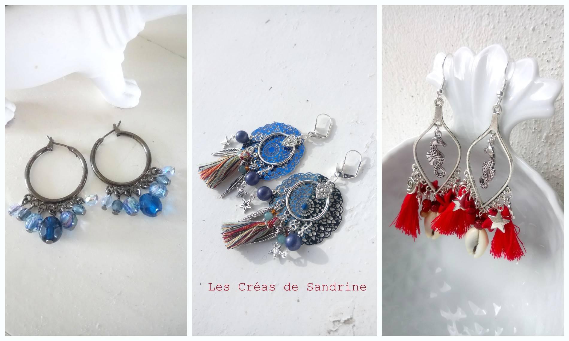 Les Créas De Sandrine Créatrice De Bijoux Fantaisie Artisanaux Limoges